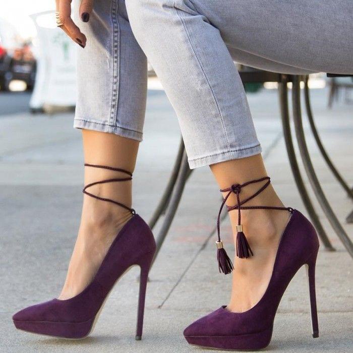 Les chaussures qui vont avec le style casual chic femme