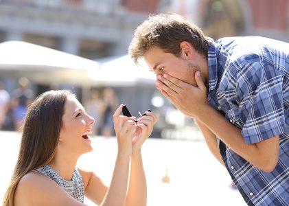 Quelle bague en diamant offrir à un homme ?